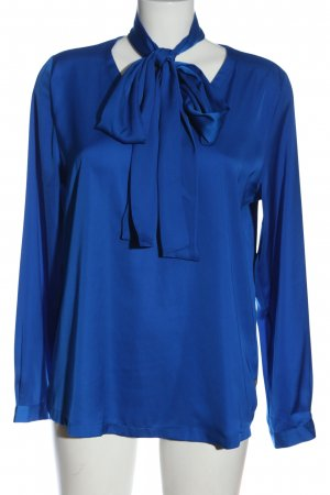 Milano Long Sleeve Blouse blue casual look