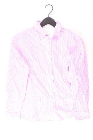 MILANO Langarmbluse Größe 40 pink aus Baumwolle