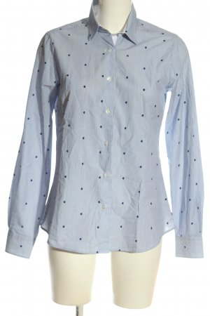Milano Long Sleeve Shirt blue-white allover print casual look