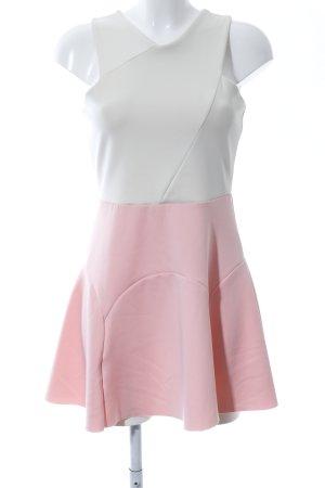 Milano Midi Dress pink-white casual look