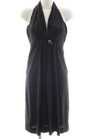 Milano Halter Dress black party style
