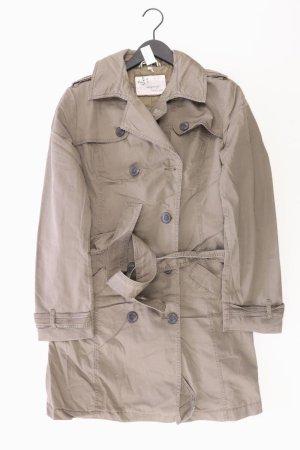 MILANO Trenchcoat Größe 44 braun aus Baumwolle