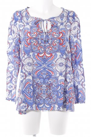 Milano Tunic Blouse blue-red casual look