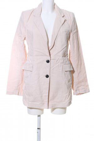 Long-Blazer creme Casual-Look