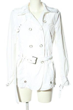 Milestone Chaqueta de marinero blanco look casual