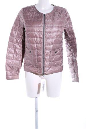 Milestone Daunenjacke pink Steppmuster Casual-Look