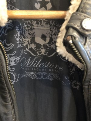 Milestone Lederjacke