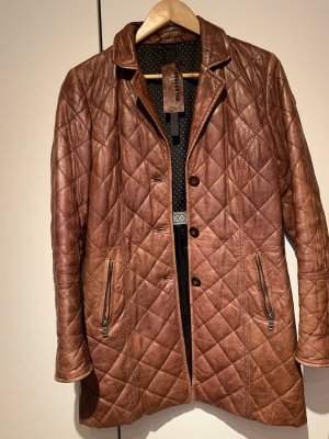 Milestone Leather Coat multicolored