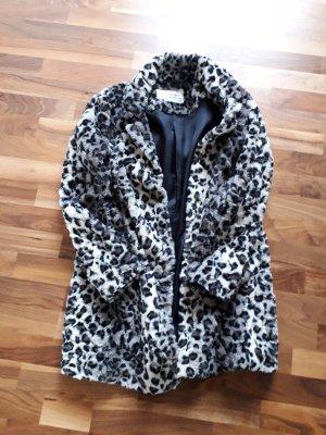 Milestone Fake Fur Coat multicolored