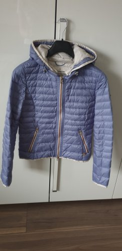 Milestone Quilted Jacket neon blue polyamide