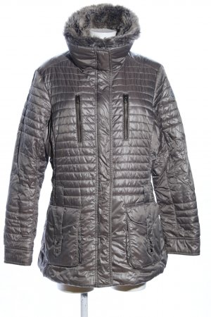 Milestone Quilted Jacket silver-colored quilting pattern casual look