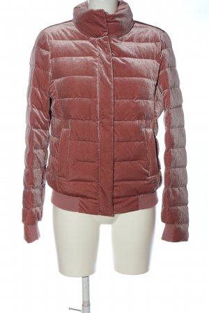 Milestone Quilted Jacket pink quilting pattern casual look