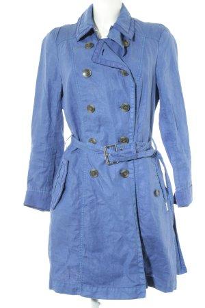 Milestone Trenchcoat blau Casual-Look