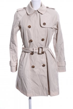 Milestone Trenchcoat wollweiß Business-Look