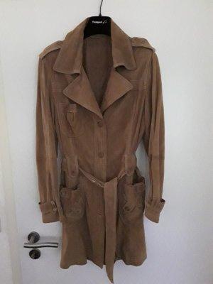 MILESTONE Trenchcoat Echt-  Gr.40/42