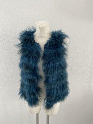 Milestone Fur vest multicolored