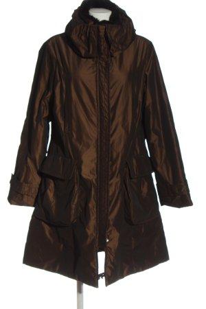 Milestone Winter Jacket brown casual look