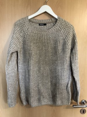 1982 Knitted Sweater cream-white