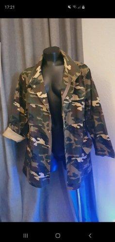 Military Jacket cognac-coloured-ocher