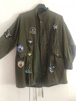 Colloseum Military Jacket dark green