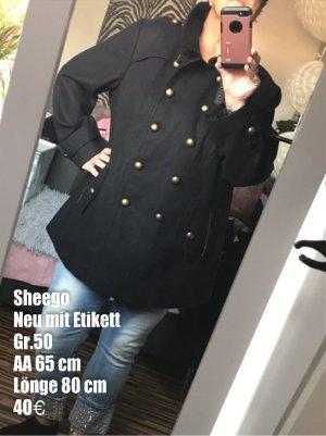 Sheego Chaqueta militar negro