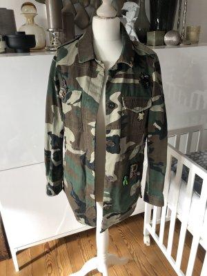 Military Jacke Camouflage
