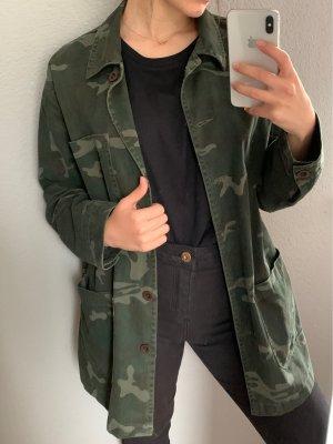 Pull & Bear Military Jacket multicolored