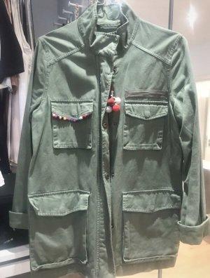Military Jacke mit Boho Details
