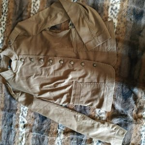 Military Jacket bronze-colored