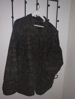 Military Levi's Jeansjacke