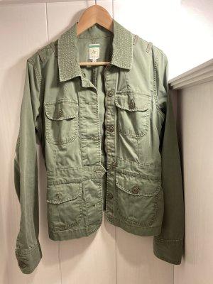 Shirt Jacket green grey