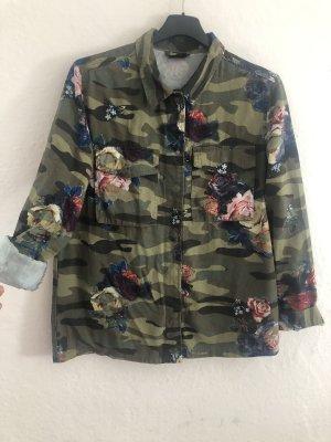 Takko Fashion Militair jack veelkleurig