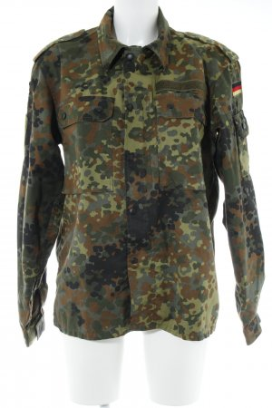 Militaryjacke Camouflagemuster Casual-Look