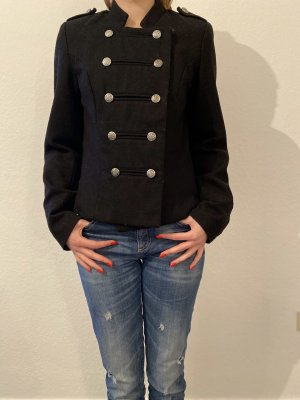 Only Military Jacket black polyester