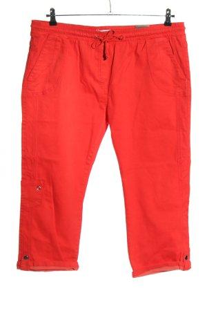 Million X Pantalone a 3/4 rosso stile casual