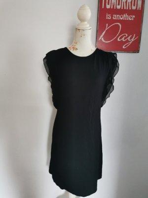Million X Damen Jerseykleid Cocktailkleid schwarz Größe 36
