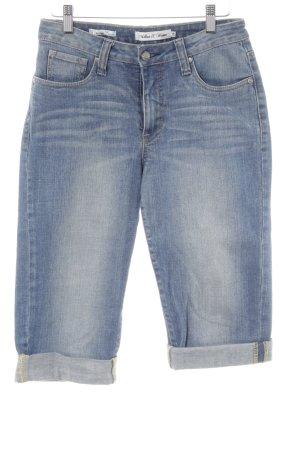 Million X Women 3/4 Jeans blau Jeans-Optik