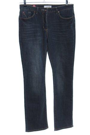 Million X Women Straight-Leg Jeans blau Casual-Look