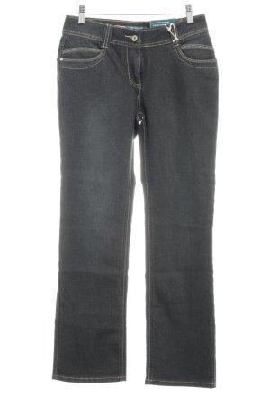Million X Women Straight-Leg Jeans anthrazit Jeans-Optik