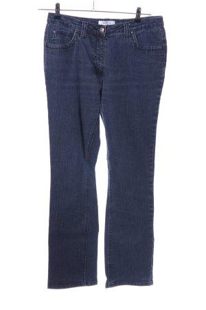 Million X Women Straight-Leg Jeans blau meliert Casual-Look