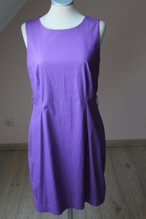 Mills Women Etuikleid Trendfarbe Sommerkleid Freizeitkleid flieder lila EUR 40 D 38 S M Rundhals Frühling