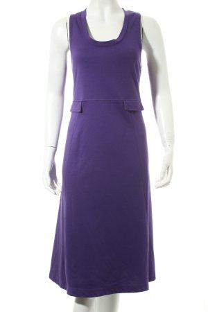 Mills Women Jerseykleid lila schlichter Stil