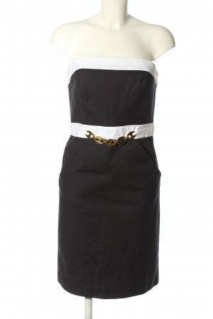 Milly Mini Abito nero-bianco elegante
