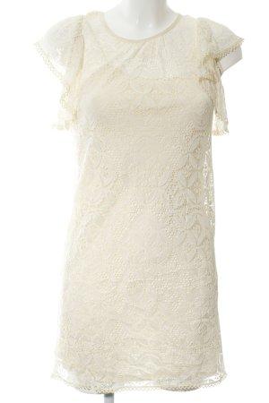 Milly Spitzenkleid creme Elegant