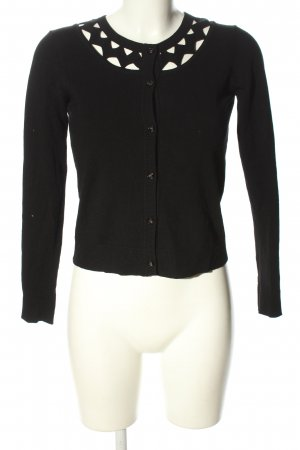 Milly Giacca in maglia nero stile casual