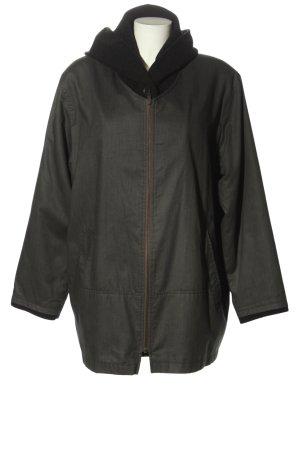 Milo Coats Übergangsjacke khaki-schwarz Business-Look