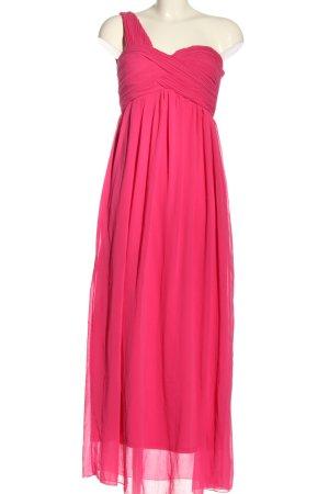 Mim Abito monospalla rosa elegante