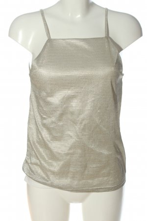Mim Camicetta da notte bianco sporco-argento stile casual