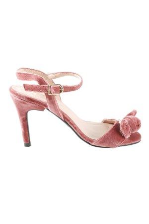 Mime et moi High Heel Sandaletten pink Casual-Look