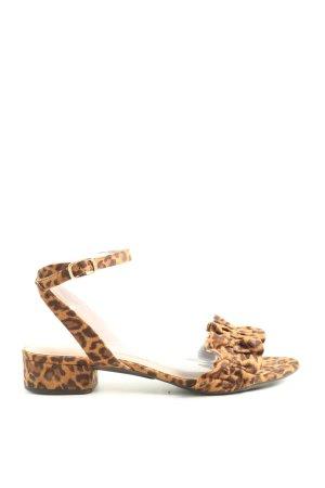 Mime et moi Strapped Sandals allover print elegant